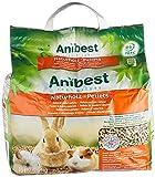 Anibest Pellets para Animales pequeños, 10 L, 5,5 kg