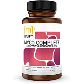 Myco Complete Functional Mushroom Blend 60 Capsule, 60count