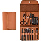 Manicure Set, Professional Stainless Steel Pedicure Nail Clipper...