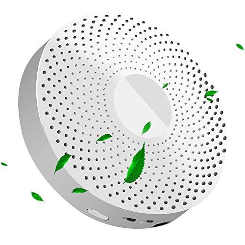 Wimaha Ozongenerator Kühlschrank Mini Luftreiniger Sterilisierende Deodorant Mini Geruch Absorber Eliminator Luftreiniger für Haustier,Raucher,Schuhschrank, Kleiderschrank,Autos