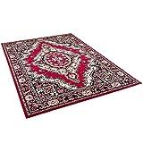Orient Teppich Trendline Rot Keshan in 5 Größen - 4