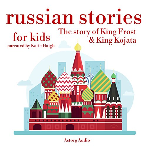 Russian Stories for Kids audiobook cover art