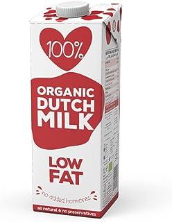 100%. Organic Low Fat Milk 1L Low Fat No Added Hormones All Natural No Preservatives EU Certified Organic