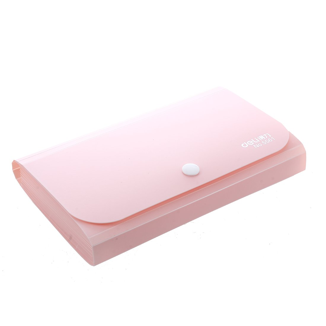 Office Supply Mini Expanding File,Pink