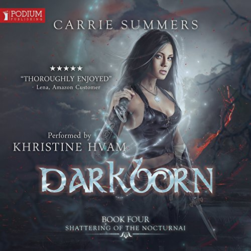 Darkborn audiobook cover art