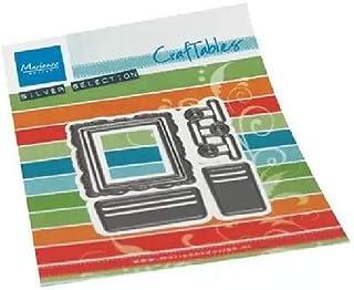 Marianne Design Craftables Matrices de Découpe et Embossing, Accessoires d'affichage de Cartes, pour Projects de Loisirs C...