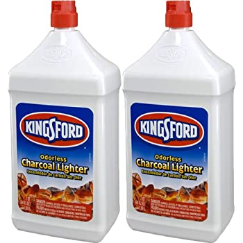 Kingsford 71186 Charcoal Lighter Fluid, 64-Ounce Bottle (2-Pack) (Discontinued by Manufacturer)