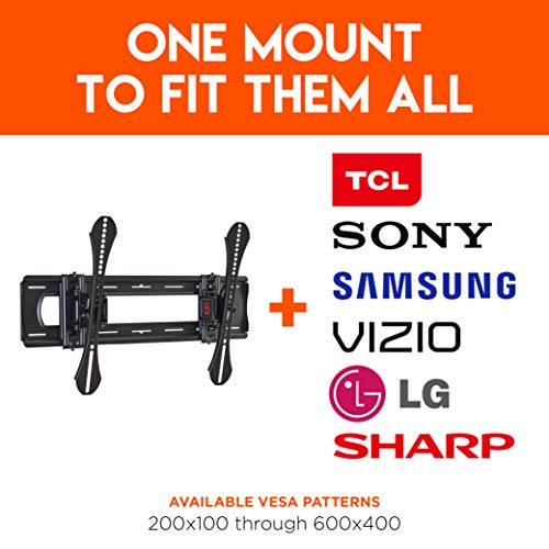 ECHOGEAR Tilting TV Wall Mount for Up to 86