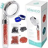 Aquasavior Alcachofa ducha alta presión 200%, teléfono ducha con filtro iónico antical, cabezal...