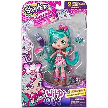 Shopkins Shoppies Wild Style Doll - Peppa-Min | Shopkin.Toys - Image 1