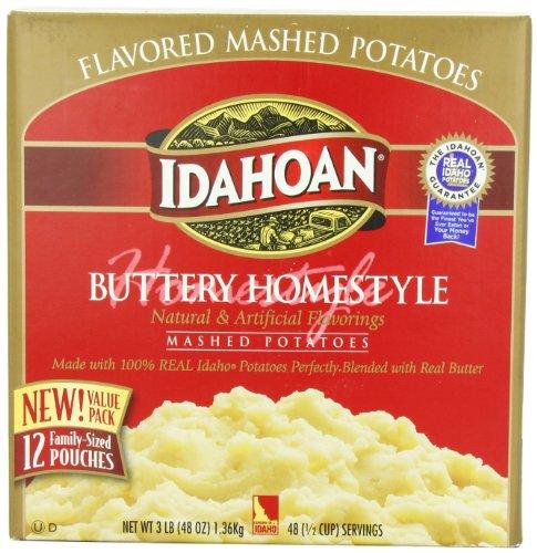 Idahoan Mashed Potatoes | Amazon