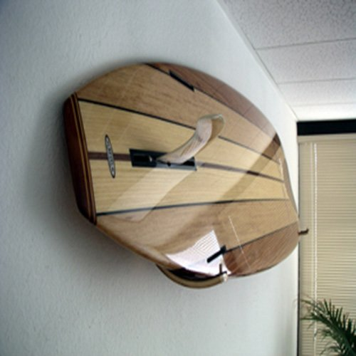 Brunette Surfboard Wall Rack