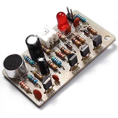 Interruttore di controllo clap Kit fai-da-te Modulo sensore sonoro Kit interruttore automatico multifunzione fotoelettrico Kit produzione elettronica