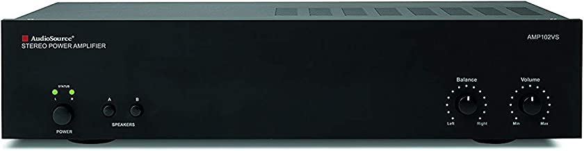 AudioSource Analog Amplifier, Stereo Power A Amplifier AMP102VS for Home Sound Systems
