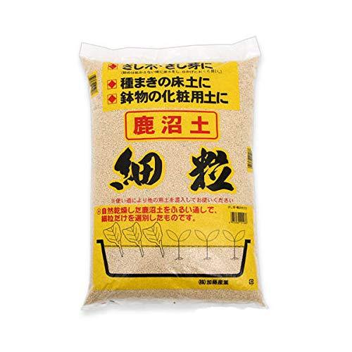 瀬戸ヶ原花苑 選別鹿沼土 細粒 14L(約8kg) 単用土 土