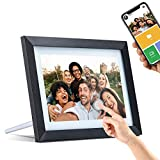 "Digital Picture Frame WiFi with 10.1"" IPS Touch Screen HD Display, 16GB Storage,Auto-Rotate,Cloud..."
