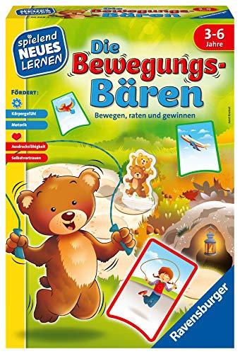 Ravensburger 20568 - Die Bewegungs-Bären - Spielen und Lernen für Kinder, das Bewegungsspiel für Kinder von 3-6 Jahren, Spielend Neues Lernen für 1-6 Spieler
