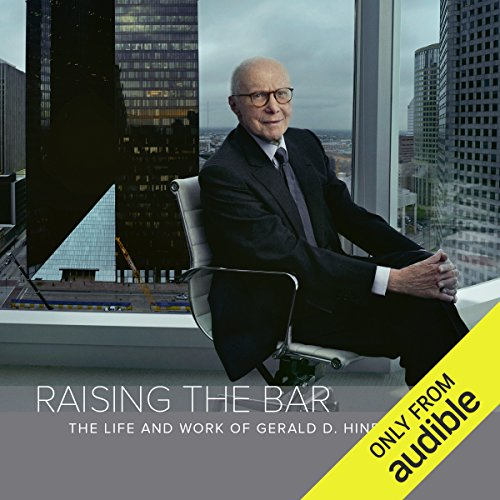 Raising the Bar audiobook cover art