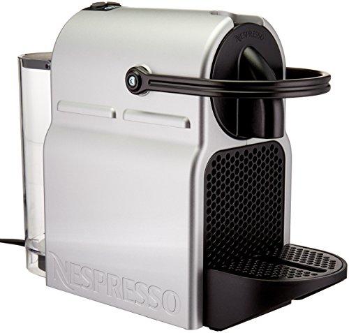 Nespresso Inissia Coffee and Espresso Machine by DeLonghi, Silver