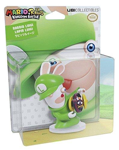Mario & Rabbids Kingdom Battle - Figur Rabbid Luigi (8 cm)