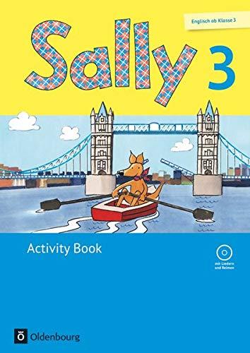 Sally 3 activity book: Lehrwerk für den Englischunterricht ab Klasse 3. Mit Portfolioheft