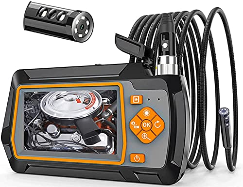 Kettles Videocamera Endoscopio 4.3inch 1080p Endoscopio Industriale HD 1080P, 5,5 mm Dual Lens IP67 Impermeabile Videocamera per Auto fognatura ispezione Strumento di Pulizia Domestico Industriale