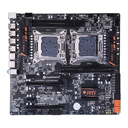 ZChun Huananzhi X79 Dual CPU moederbord LGA 2011 E-ATX USB3.0 SATA3 PCI-E NVME met Dual Xeon Processor