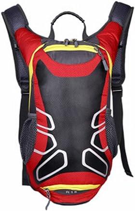 KOOXN Mochila De Bicicleta, Bolsa De Nylon 15L Bicicleta De Montaña Hidratante, Se Puede Utilizar como Una Mochila De Baloncesto Mochila Deportiva Bicicleta Bolsa De Montar Al Aire Libre