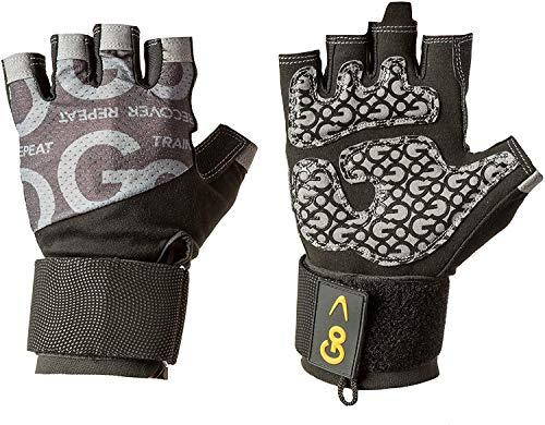 GoFit Herren Pro Trainer Handschuh Training, Schwarz, Größe L