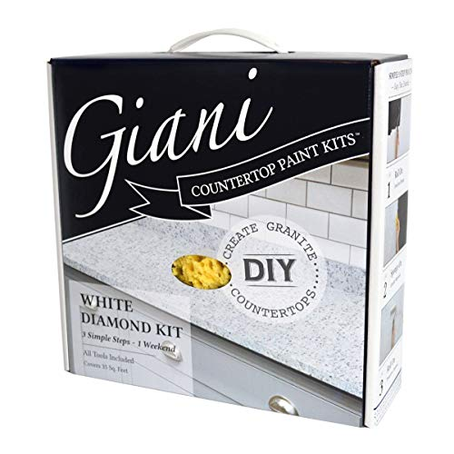 Giani White Diamond Countertop Paint Kit