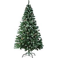 Natale - la festa dell'amore. Create in un batter d'occhio una perfetta atmosfera natalizia con un albero di Natale artificiale di TecTake. // Altezza: 180 cm // Diametro: 100 cm // Numero di punte: 705 // Peso: 5,5 kg. I nostri alberi di Natale hann...