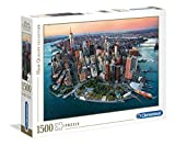 Clementoni- Puzzle 1500 Piezas New York, Multicolor (31810.0)
