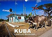 KUBA - Land und Menschen (Wandkalender 2022 DIN A3 quer): Ein Kalender mit wunderschoenen Landschaftsaufnahmen von Kuba und Alltagsportraits der Menschen, die dort leben (Monatskalender, 14 Seiten )