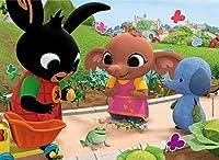Liscianigiochi- Bing la Rana Gicoco per Bambini-Puzzle, 24 Pezzi, Multicolore, 77991 #1