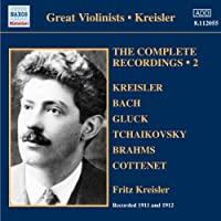 The Complete Recordings Vol.2 by Fritz Kreisler (2010-06-01)