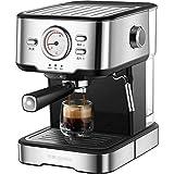 Cafeteras para Espresso 20BAR HOGAR PEQUEÑA MÁQUINA Semi AUTOMÁTICA PROFESIÓN Espresso CAFERA CAFERA con MAZÓN DE ESPRESO DE Acero DE Acero Inoxidable DE Leche Maquina de Cafe (Color : A)
