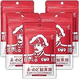 森下仁丹 鼻・のど甜茶飴 38g×5袋 [ ノンシュガー のど飴 / メントール ] 甜茶エキス 甘茶エキス