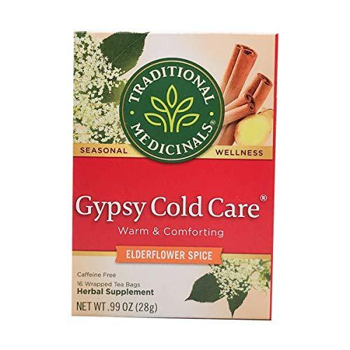 Traditional Medicinals Gypsy Cold Care Herbal Tea - 16 Tea Bags