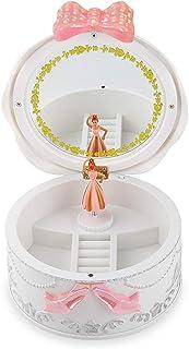 rongweiwang Barn dansande flicka musiklådor leksak roterande ljud leksak födelsedagsdocka utför balett födelsedagspresent ...