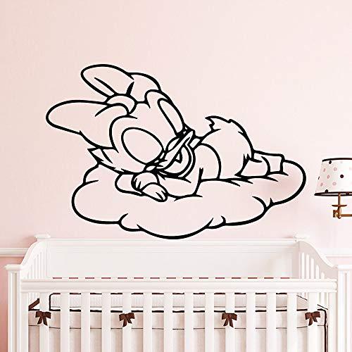 xingbuxin Sleepping Ente Wandaufkleber Wohnkultur Mädchen Schlafzimmer Aufkleber Für Kinderzimmer Dekoration Wandbild Poster 1 L 43 cm X 63 cm
