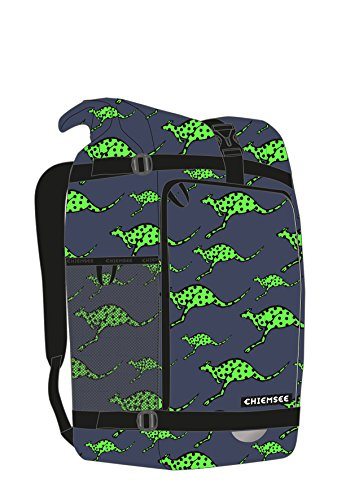 Chiemsee Bags Collection Schulrucksack, 50 cm, 4865 Dk Blue/M Green
