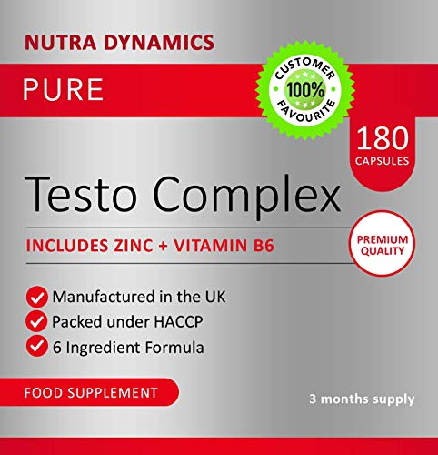 Test Boost for Men |180 Capsules Testosterone Support Supplement |
