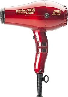 Parlux 385 Powerlight Ceramic & Ionic 2150W Hair Dryer, Red, 710 g