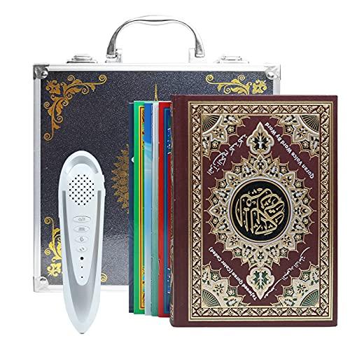 CG Ramadan Coran avec Stylo Lecteur de livres musulmans, supporte plusieurs langues, et possède de nombreux récitants célèbres, rechargeable, boîte en aluminium, cadeau musulman, cadeau islamique.