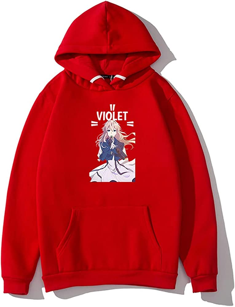 Fashionable 2021 New Anime Hoodies Violet Casual Merch Evergarden Alternative dealer Swe Hooded