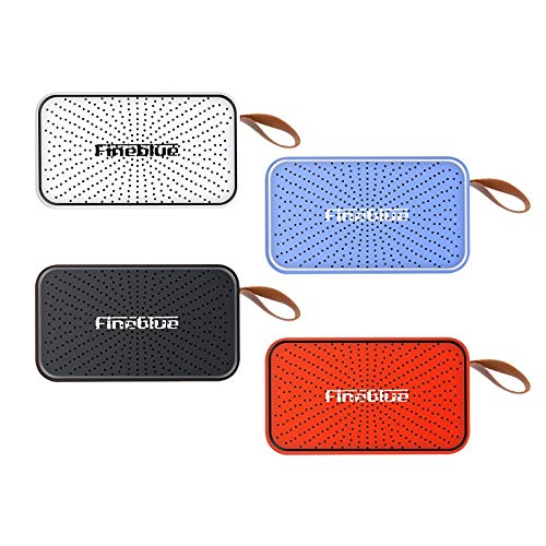 Topsale-ycld HiFi-Bluetooth-Lautsprecher HD-Super-Bass-Subwoofer-Mini-Lautsprecher mit integriertem Mikrofon-Support Freisprechen (Color : Red)