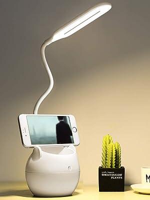 LED Tisch Leuchte Schreibtisch-Lampe Büro Leselampe USB TOUCH Nachtlicht dimmbar