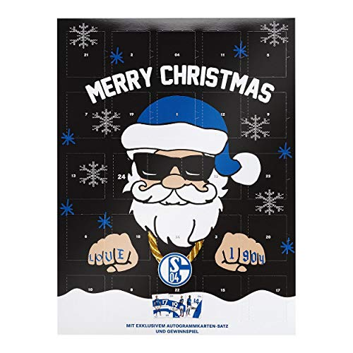 FC Schalke 04 Adventskalender Team 2019