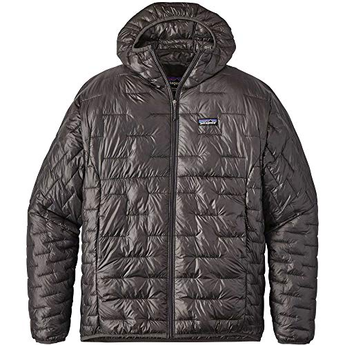 Patagonia M 'S Micro Puff Jacket, Herren XL grau (Forge Grey)
