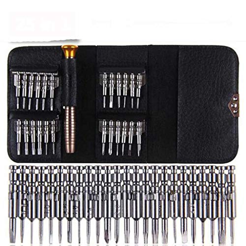 SHYPT Mini Precision Screwdriver Set 25 in 1 Electronic Torx Screwdriver Opening Repair Tools Kit for iPhone Camera Watch Tablet PC